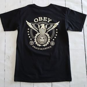 Obey Peace and Justice Unisex Graphic Tee